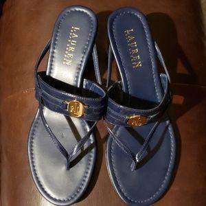 Lauren Ralph Lauren Navy sandal